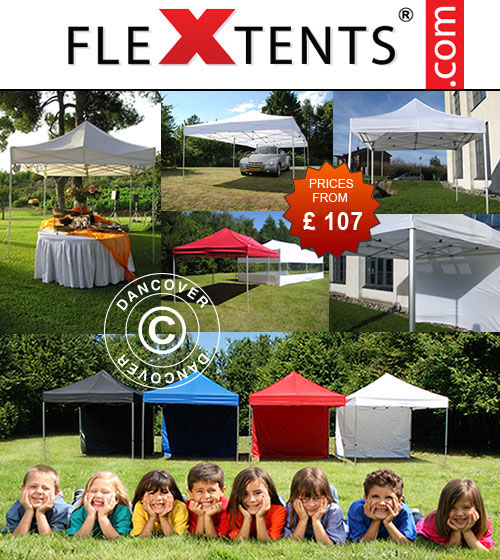 Flex canopies in high quality. Flex canopies for Sale. Flex canopies for promotion or event.