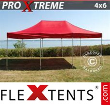 Flex canopy Xtreme 4x6 m Red