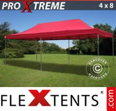 Flex canopy Xtreme 4x8 m Red