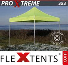 Flex canopy Xtreme 3x3 m Neon yellow/green
