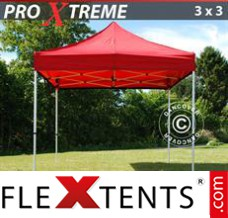 Flex canopy Xtreme 3x3 m Red
